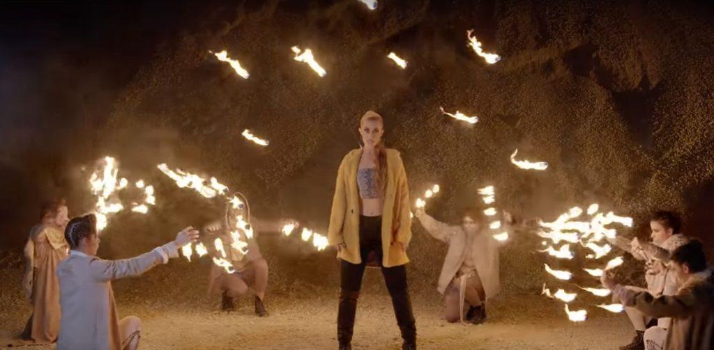 ефекти с огън за видео клип