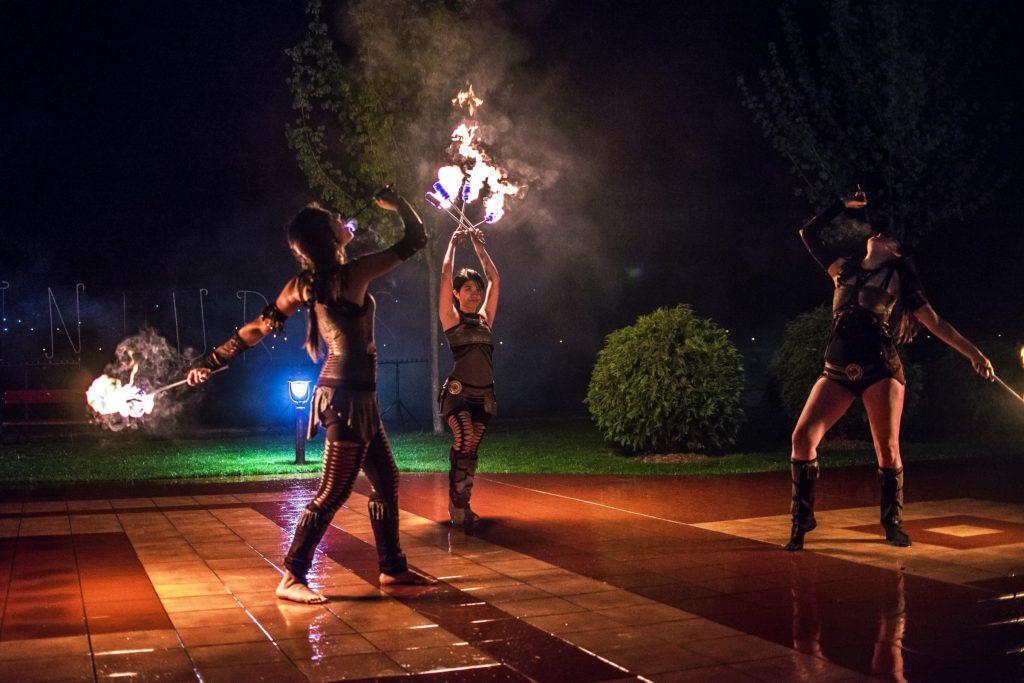 огнено представление