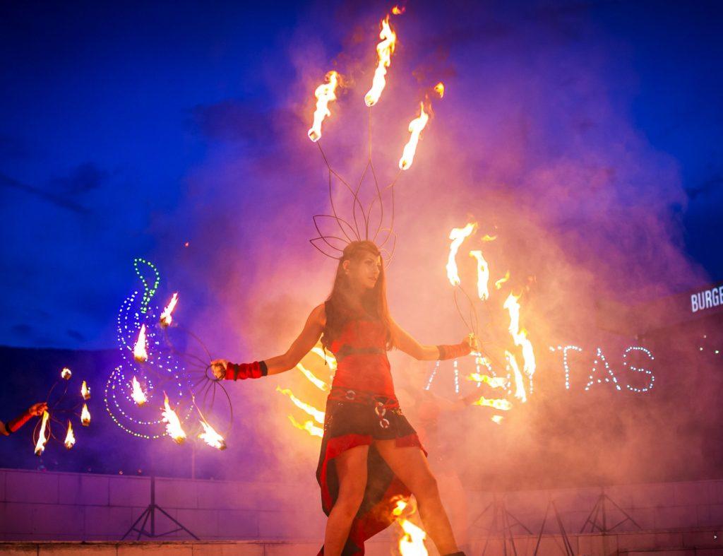 огнено шоу софия