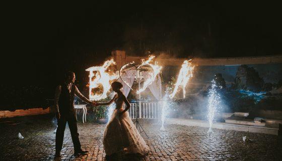 Сватбата на B и А в Резиденция Тера, заснета от фотографа Георги Казаков